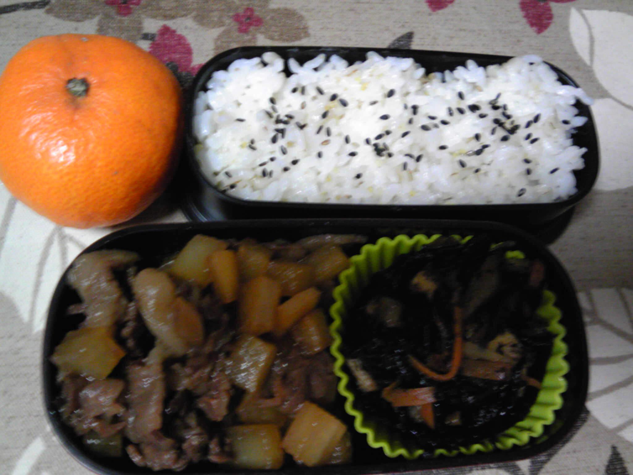 ひじき弁当パート2