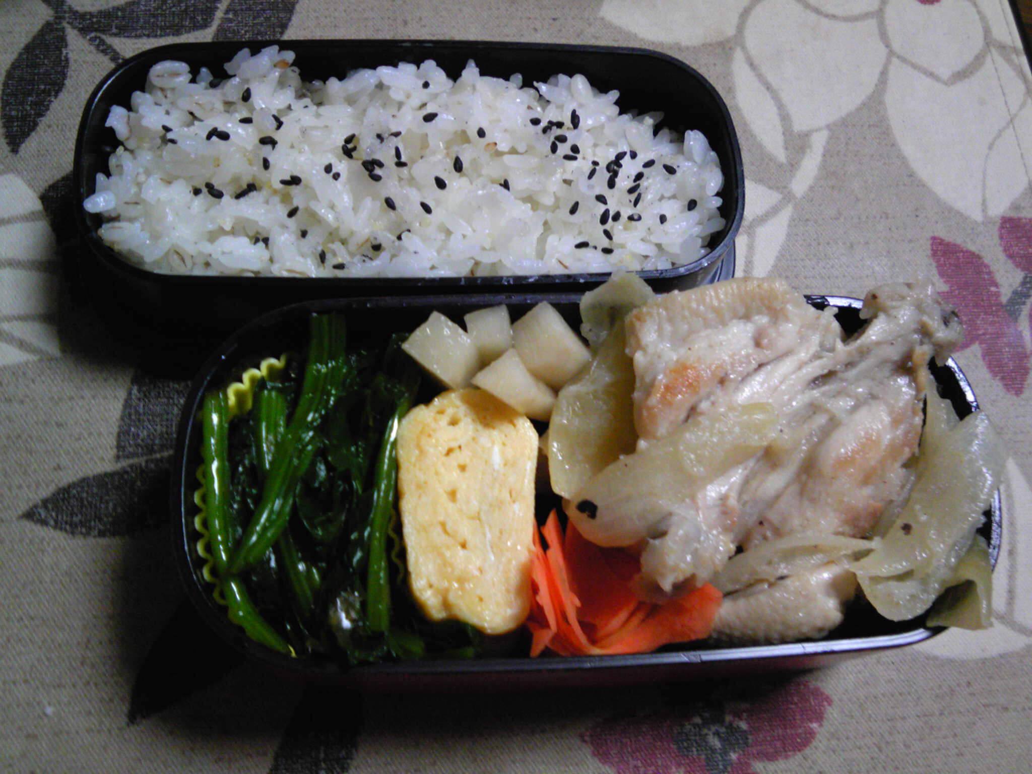 鶏骨つき肉のこってり酢煮弁当