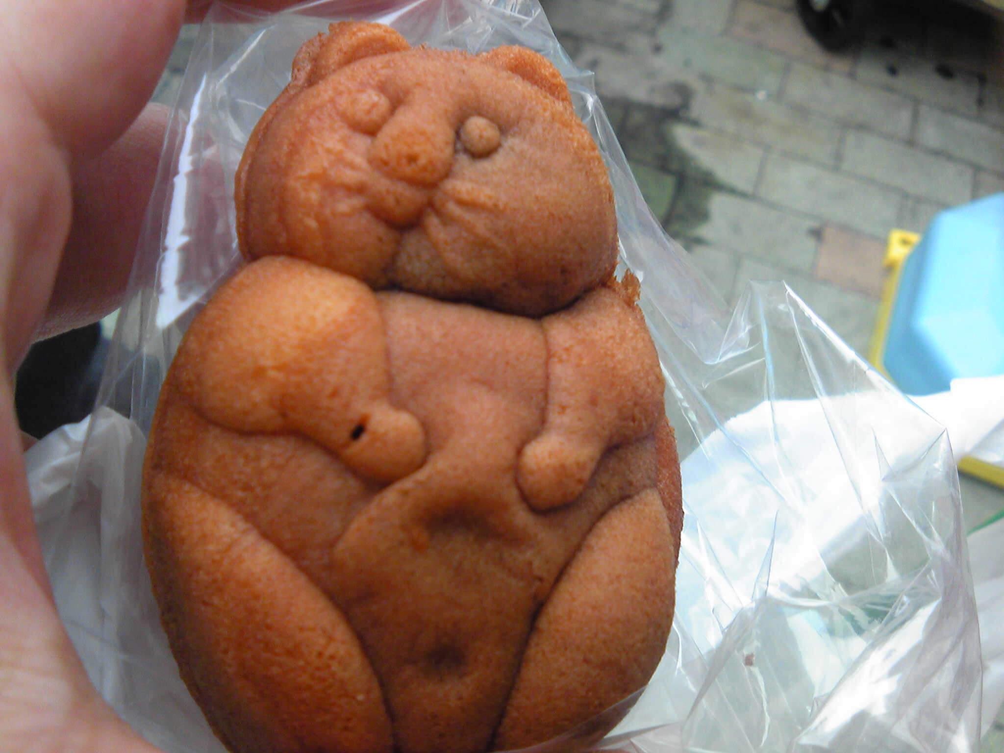 たぬきの人形焼