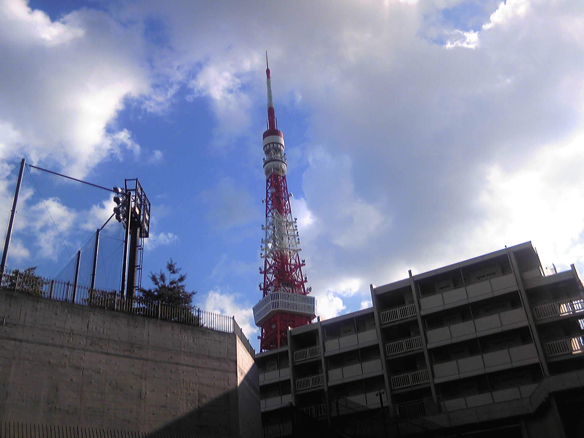 今日は東京タワー