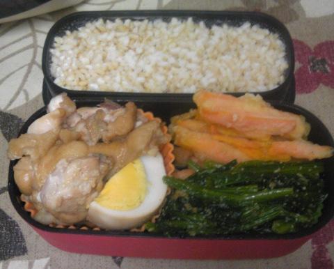 鶏のさっぱり煮弁当