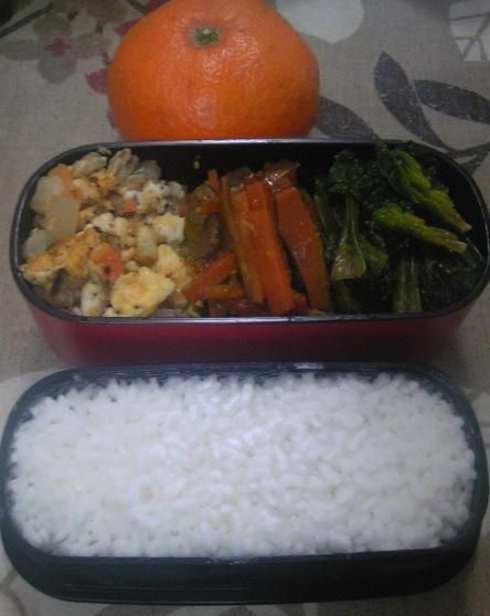 肉みそ炒り豆腐弁当