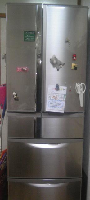 冷蔵庫がやってきた